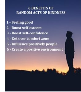 6 benefits of random acts of kindness