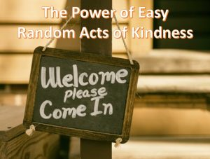 easy random acts of kindness