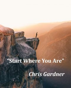 winning over personal challenges: start where you are