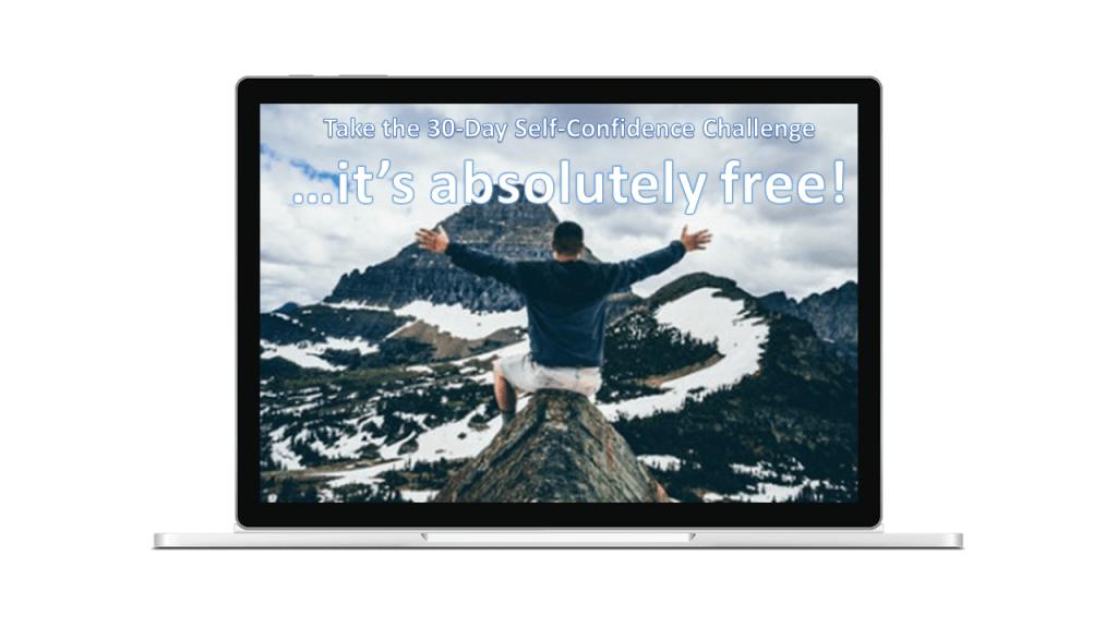 30 day self confidence challenge - optin page